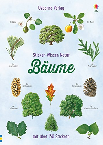 Sticker-Wissen Natur: Bäume