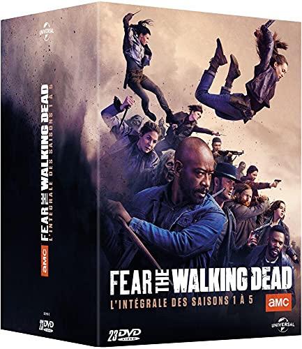Coffret fear the walking dead, saisons 1 à 5