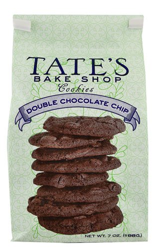 Tate's half Bake Shop favorite Cookies Double Chocolate Chip -- Pack oz of 7