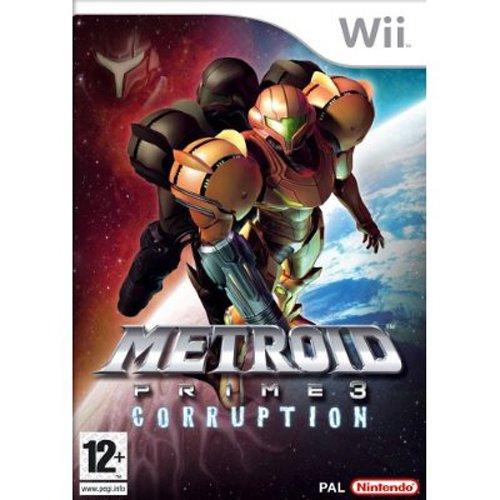 'Metroid Prime 3 Corruption' Wii Spiel Brand Neu