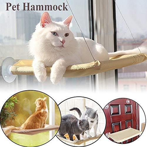 HIGHEVER日本『猫窓用ハンモック吸盤タイプ』
