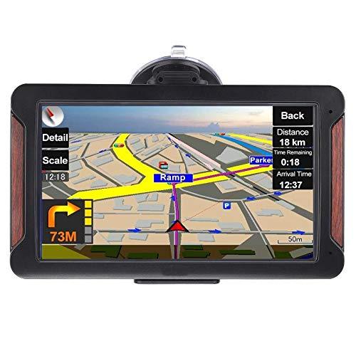 GPS Navi Navigation Auto LKW KFZ Navigationsgerät 7 Zoll Lebenslang Kostenloses Kartenupdate 2020 Europa Karten