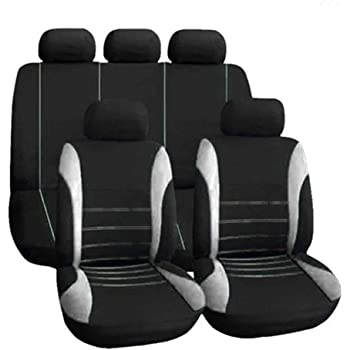 2+1 talla 4 negro-rojo ya referencia funda del asiento fundas para asientos ya referencias