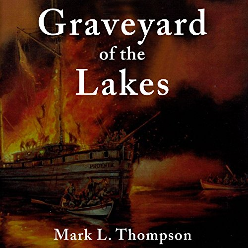 Graveyard of the Lakes audiobook cover art