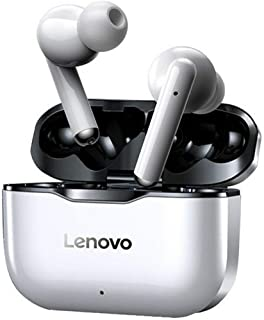 NEW Lenovo LP1 Wireless Earphon Bluetooth 5.0 Dual Stereo Noise Reduction HIFI Bass Touch Control Long Standby 300mAH Head...