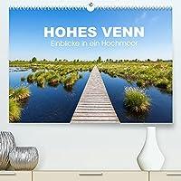HOHES VENN - Einblicke in ein Hochmoor (Premium, hochwertiger DIN A2 Wandkalender 2022, Kunstdruck in Hochglanz): 12 beeindruckende Bilder des groessten Hochmoors Europas im Jahresverlauf (Monatskalender, 14 Seiten )