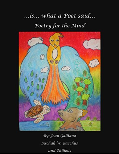 ...is... what a Poet said: Poetry for Your Mind (English Edition)
