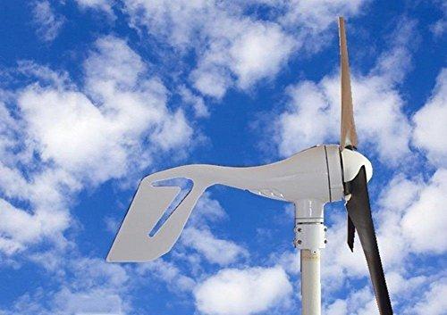 ECO-WORTHY 400W Windkraftanlage 12V / 24V Windgenerator Windkraftgenerator Ideal zum Aufladen von 12V 24V Batterien