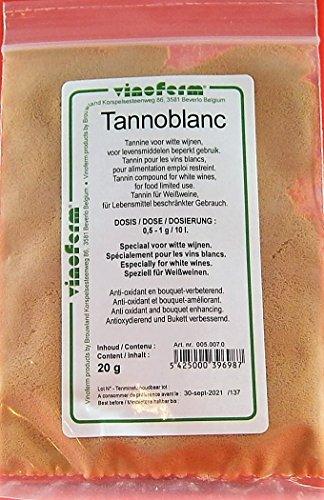 Wijntannine voor Witte Wijn 20g – Tannin Vinoferm | Tannine van zoete kastanje | Wijnbereiding