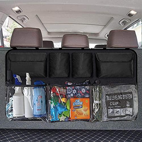 Car Trunk Organizer, Backseat Hanging Organizer with 7 Large Storage Bag -Trunk Organizer for...