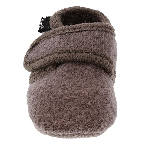 CELAVI Unisex-Baby Wool Shoe Hausschuh, Dusty Lavender, 21 EU - 5