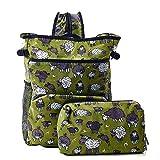 ECO CHIC Lightweight Foldable Backpack Cooler - Ruck Sack Cool Bag - Sheep