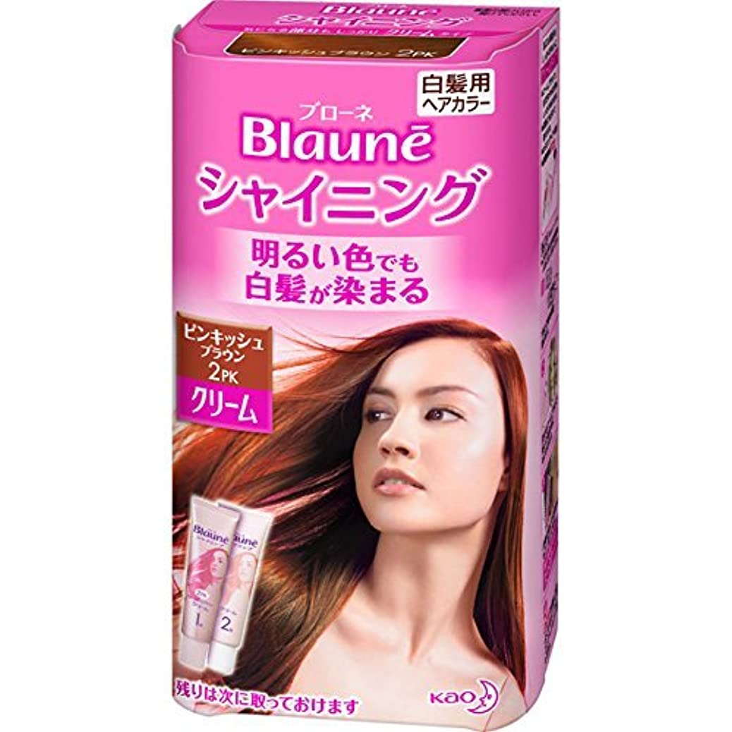過激派補償オープニング花王 ブローネ シャイニングヘアカラー クリーム 2PK 1剤50g/2剤50g(医薬部外品)《各50g》