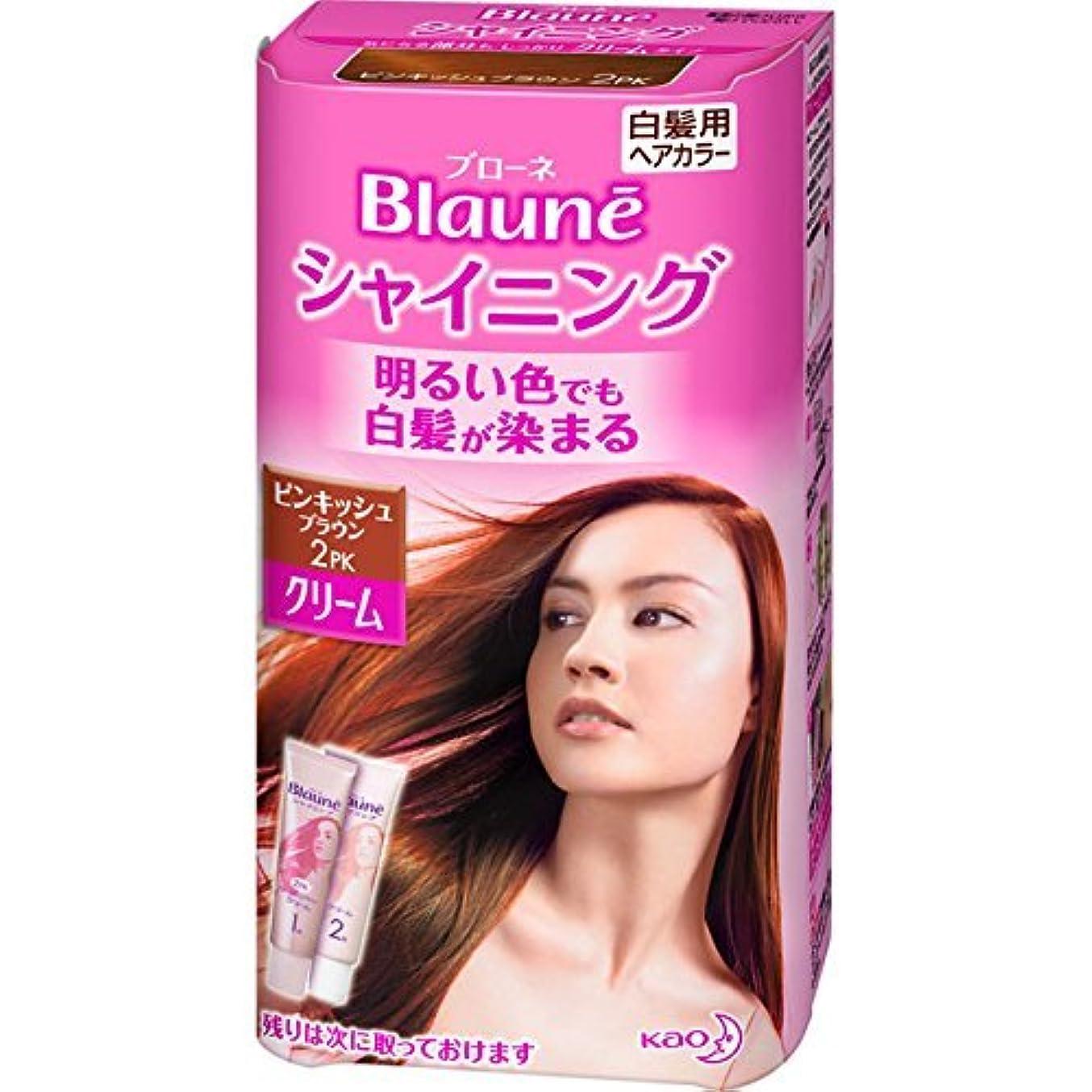 特別な深遠驚くばかり花王 ブローネ シャイニングヘアカラー クリーム 2PK 1剤50g/2剤50g(医薬部外品)《各50g》