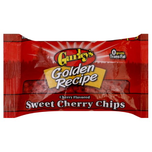 Gurley's Sweet Cherry Chips, 10 Ounce (Pack of 6)