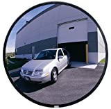 See All PLXO12 Circular Acrylic Heavy Duty Outdoor Convex Security Mirror, 12' Diameter (Pack of 1)