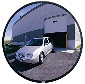 See All NO18 Circular Glass Heavy Duty Outdoor Convex Security Mirror 18  Diameter  Pack of 1