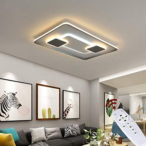 NEU 9641CFX LED Deckenleuchte mit Fernbedienung Lichtfarbe/Helligkeit einstellbar dimmbar (9641CFX 90 * 60cm 224W)