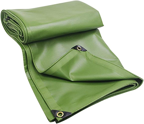 12-Huisongda Tente extérieure bache Prougeection Solaire étanche Tente extérieure Toile de Prougeection Solaire Coupe-Vent étanche à la poussière Doux et Chaud (Couleur   Vert, Taille   2x3M)