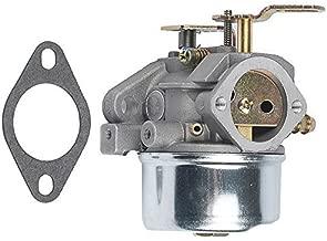 Savior 640054 Carburetor Carb + Mounting Gasket for Tecumseh HMSK80 HMSK90 HMSK100 LH318SA LH358SA 640349 640052 640058 640058A 8hp 9hp 10hp Engine Snow Blower