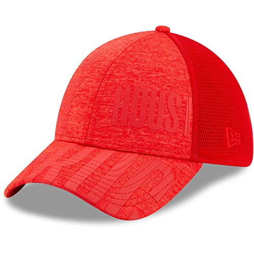 New Era 39Thirty - Cappellino NBA Tip off Houston Rockets, Colore: Rosso, Unisex Bambino, Red, M/L