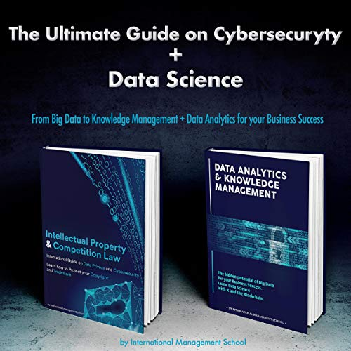 The Ultimate Guide on Cybersecurity + Data Science: two books in one copertina