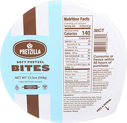 Pretzilla, Soft Pretzel Bites, 12.3 Ounce
