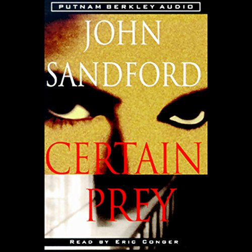 Certain Prey audiobook cover art