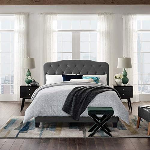 Best Modway Rasmussen Upholstered Platform Bed