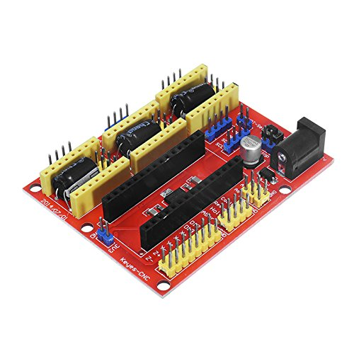Ils - Arduino CNC Shield V4 Expansion Card for Arduino 3D Engraver Printer