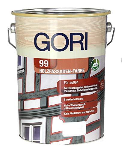 GORI 99 Holz- und Fassadenfarbe 7117 Schwedenrot, 0,75 Liter