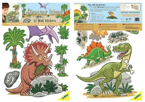 Au Sycomore Funtosee Blister Sticker Dinosaure