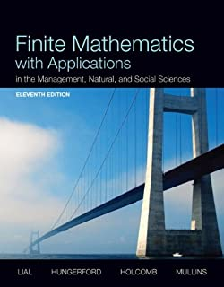 Best finite mathematics with applications 11th edition Reviews
