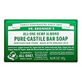 Dr Bronner - Barra de jabón (140 g)