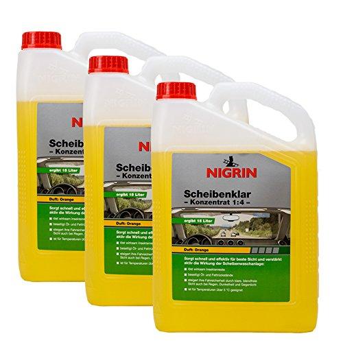 Nigrin 3X 73137 Scheibenklar Konzentrat 1:4 Orange 3 Liter
