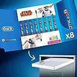 Oral-B Kids Brossettes Star Wars, Lot De 8, Format Spécial Boîte Aux Lettres