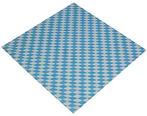 Sensalux Mitteltischdecke aus stoffähnlichem Vlies, Standard 100 by Oeko-TEX®, 1m x 1m, Bayern