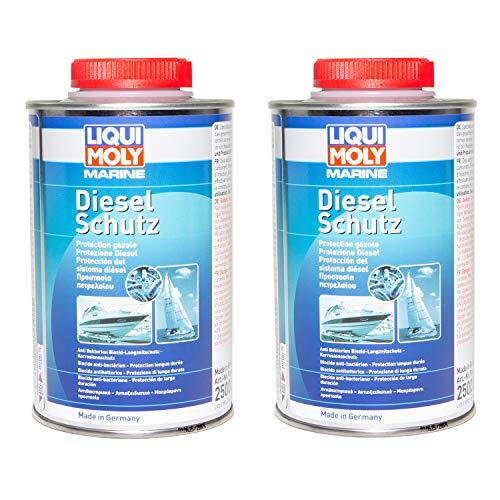 Marine 2 X 500 ml LIQUI MOLY Dieselschutz Diesel Schutz Additiv Dieselpest Stop