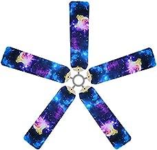 Fan Blade Designs 6560 Space Odyssey Ceiling Fan Blade Covers, Multi, 5 Piece