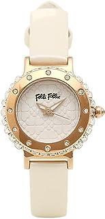 [フォリフォリ] 時計 レディース FOLLI FOLLIE WF13B067SPW-WH HEART4HEART ハートフォーハート 腕時計 ホワイト/ゴールド [並行輸入品]
