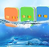 Gvnd Back Float, Swim Belt Bubble Adjustable 3 Layers Thicken Split Foam Learning Safety Training Board Pool Float for Kids Toddlers Swimming Beginners Floats Swim Lessons Equipment