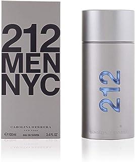 Perfume Carolina Herrera 212 Eau de Toilette for Men NYC, 100 ml