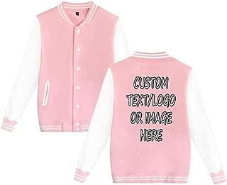 Unisex Custom Varsity Jacket Personalized Baseball Jacket Uniform Sweater Coat