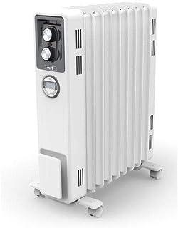 EWT - Radiador sin aceite, calentamiento ecológico, 2000 W