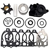 spartshome Water Pump Impeller Repair Kit Replacement for 46-96148T8 Fit for Mercruiser Alpha One and Mercury V6 Replaces 46-96148A8 46-96148Q8 46-96148A5 46-42579A4 46-44292A4 46-48747A3