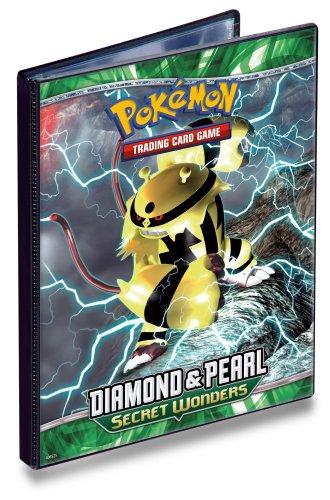 Ultra PRO Pokemon DIAMOND & PEARL SECRET WONDERS - Combo Album - 4 POCKET PORTFOLIO - Pokemon Trading Card Album / Binder image