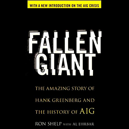Fallen Giant audiobook cover art
