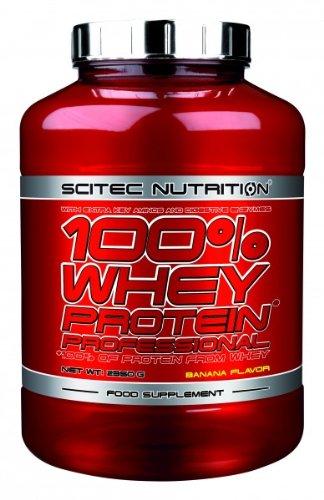 Scitec Nutrition 100{e5f3260c2b693d29daa19e6b0dd9954343be18416ab26298abf24a6056e80e16} Whey Protein Professional 2350 g Banane