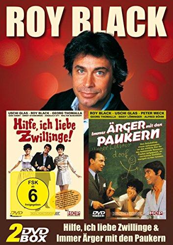 Roy Black 2er DVD Edition (Hilfe ich Liebe Zwillinge, Immer Ärger mit den Paukern)