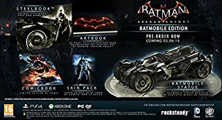 Batman Arkham Knight - édition collector batmobile (B00NW83G2Q) | Amazon price tracker / tracking, Amazon price history charts, Amazon price watches, Amazon price drop alerts